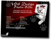 Web Design Passion Féline