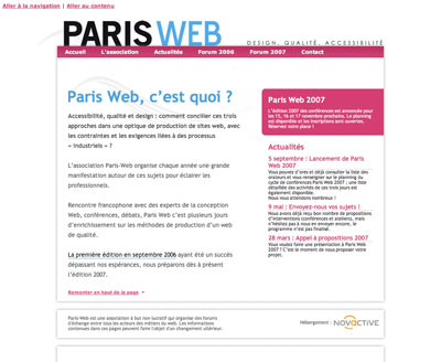 Association Paris Web